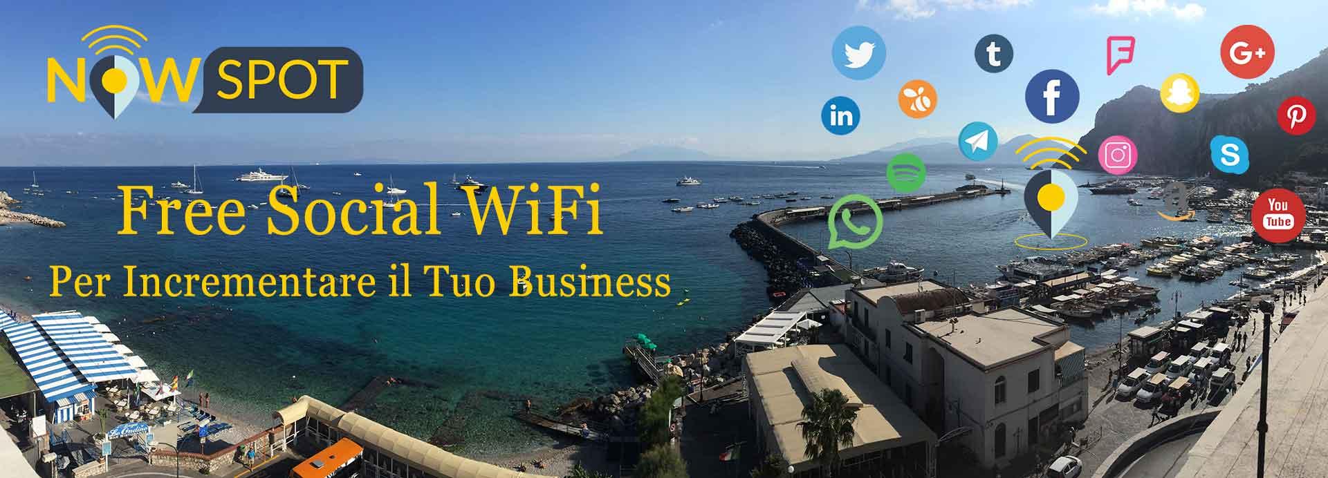 Nowspot Free Social WiFi