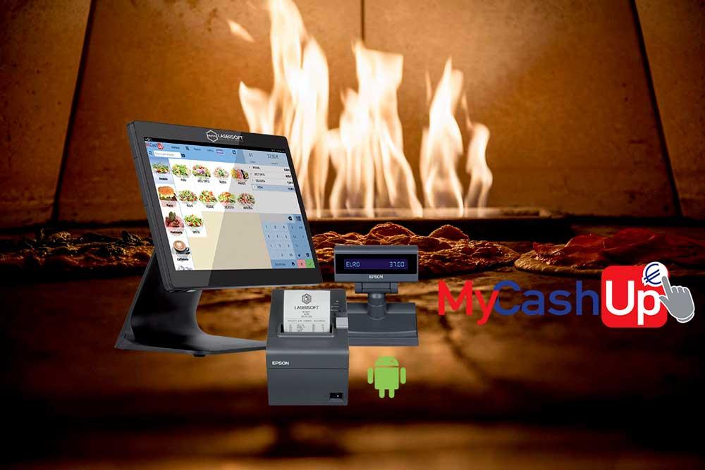 Pizza Fuoco MyCashUp MyPos 1000