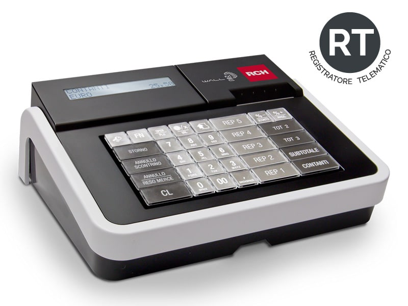 Offerta registratore di cassa WalleMecRt