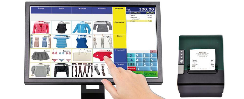 Retail Pc Touch Abbigliamento Epson fp81