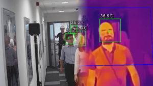 Termocamera Rilevazione temperatura corporea