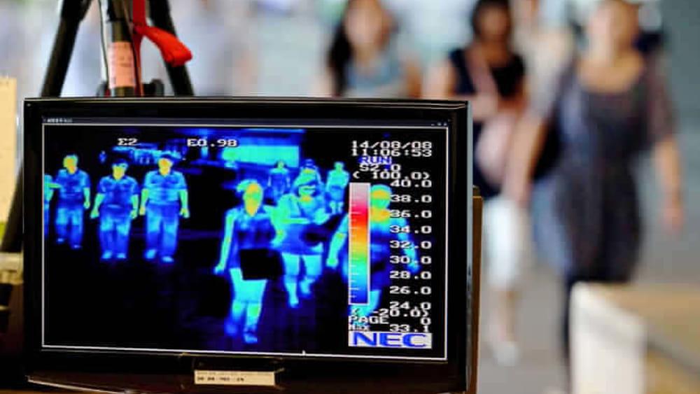 termocamera Immagine termica